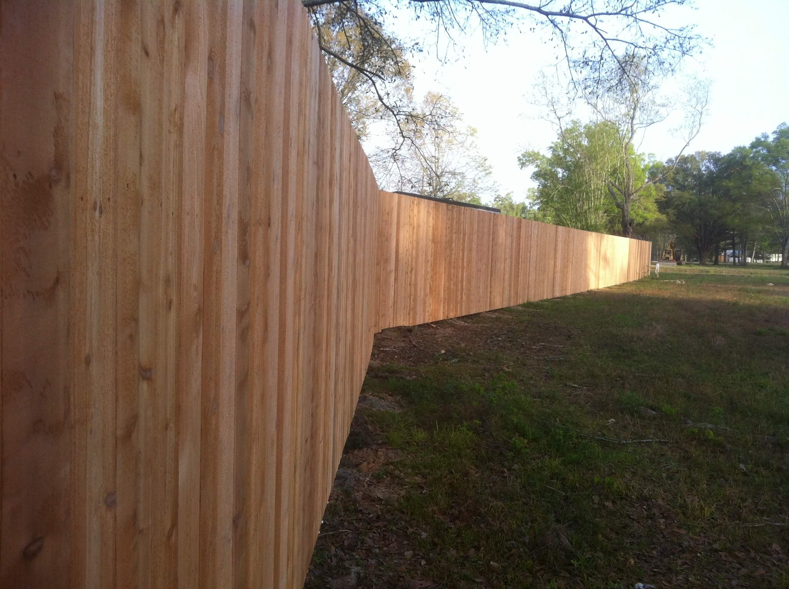 Standard 8' Cedar Fence