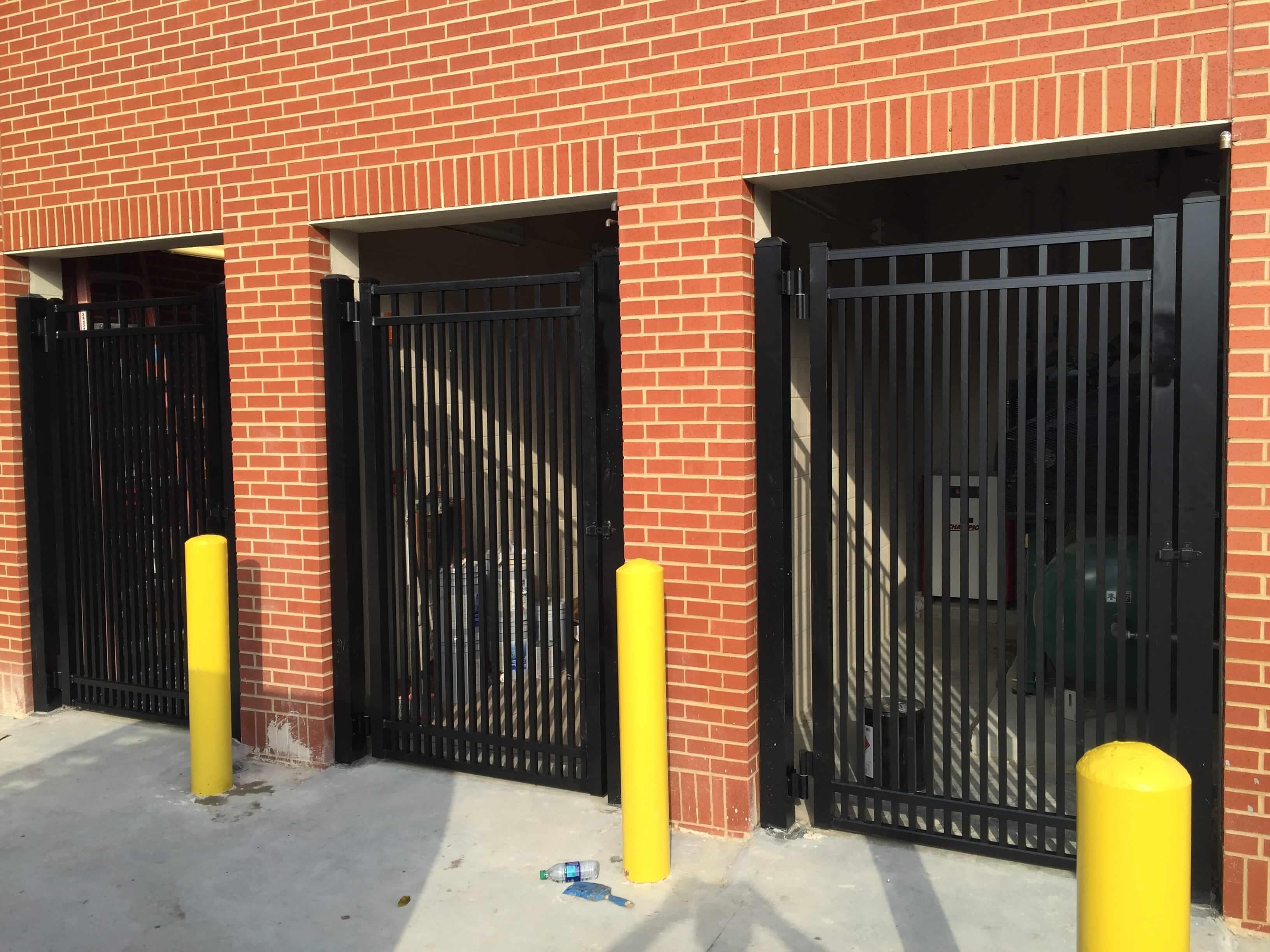 Industrial Grade Aluminum Gates