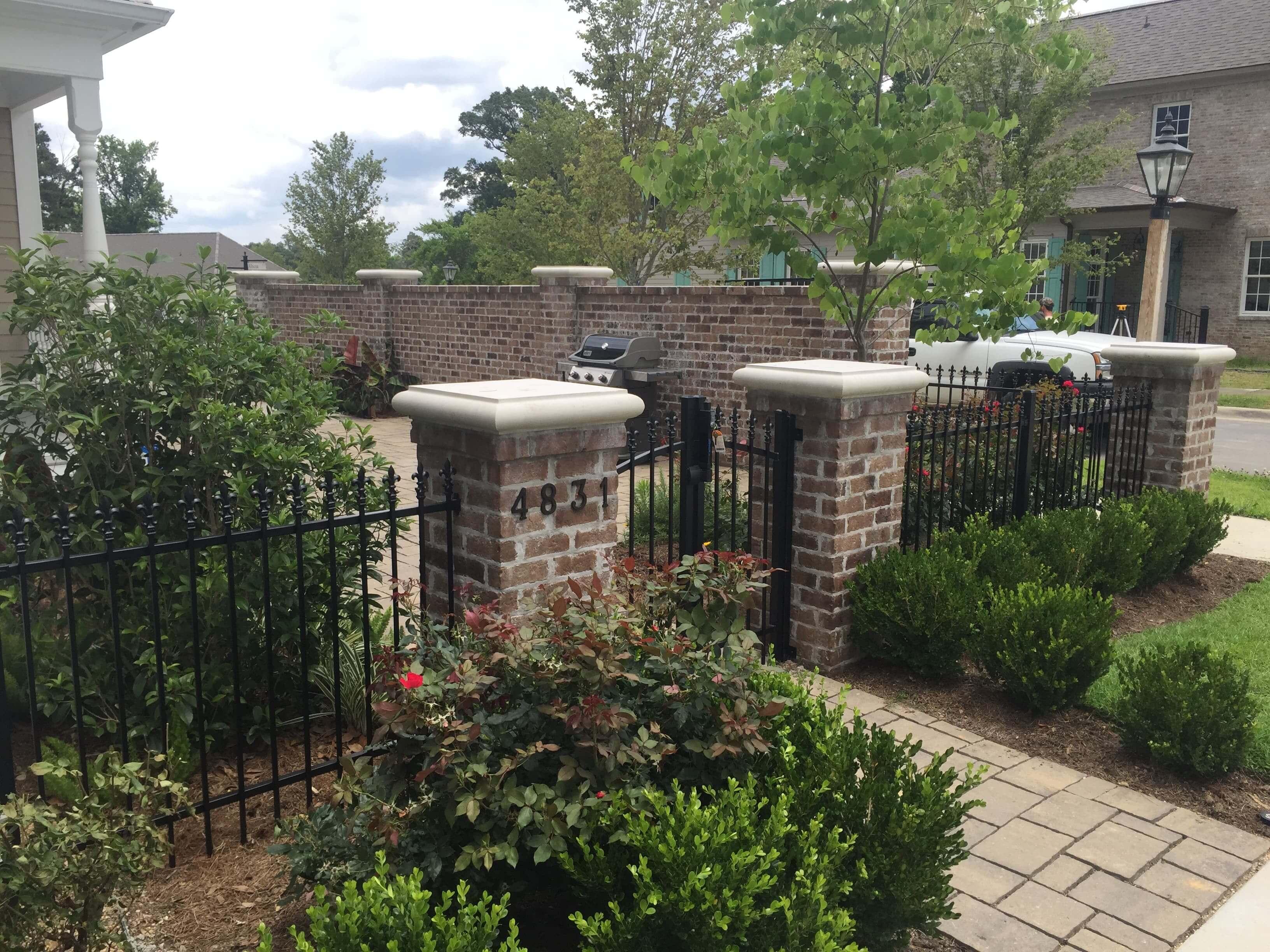 Short Brick Columns